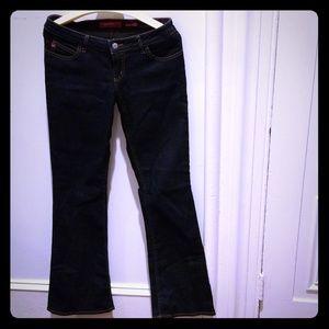 Miss Sixty Bootcut Jeans. Dark blue.